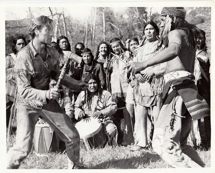 The Pathfinder (1952 film) George Montgomery Rod Redwing The Pathfinder 1952 American