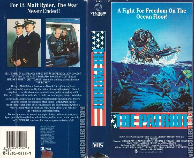 The Patriot (1986 film) The Patriot 1986 VHScoverART