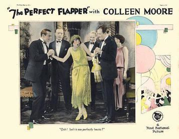 The Perfect Flapper movie poster