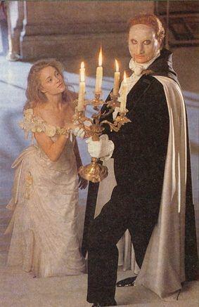 The Phantom of the Opera (miniseries) Charles Dance Phantom of the Opera Still one of my fav nonAndrew