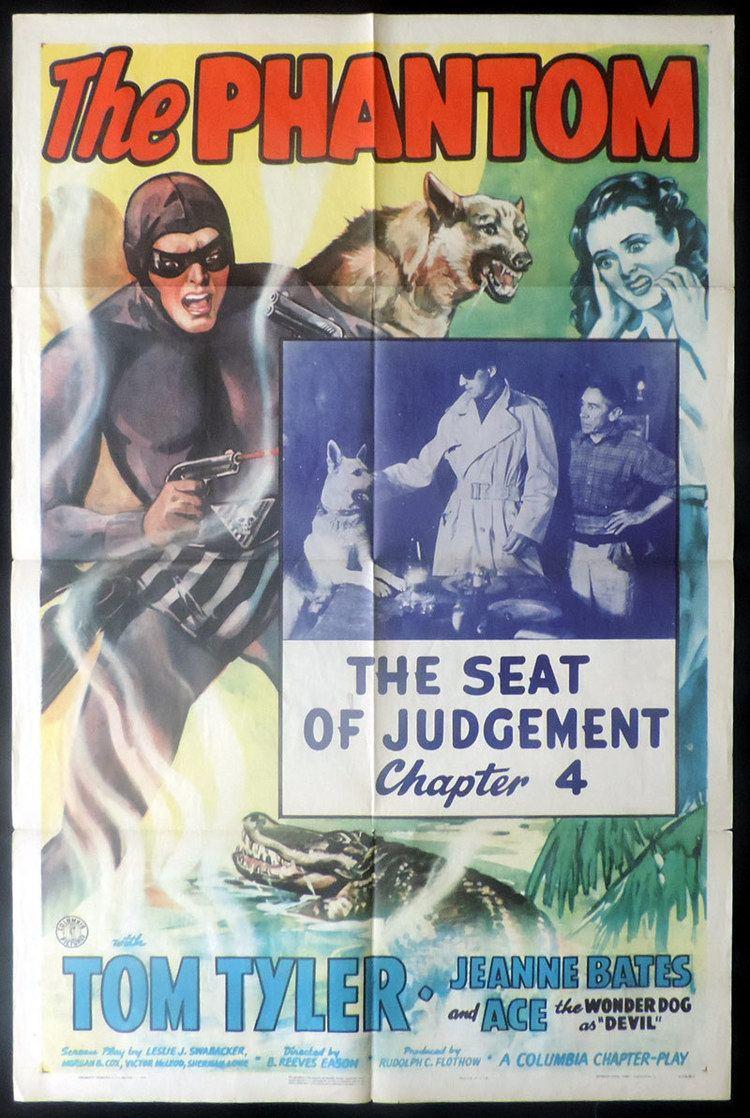 The Phantom (serial) THE PHANTOM US One sheet Movie Poster TOM TYLER Serial Chapter 4