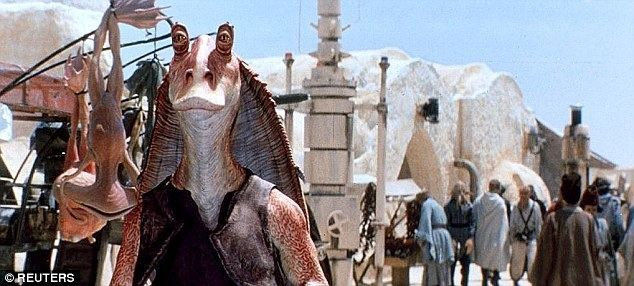 The Phantom Treehouse movie scenes Unfavoured A snapshot of Tatooine and the little loved character Jar Jar Binks