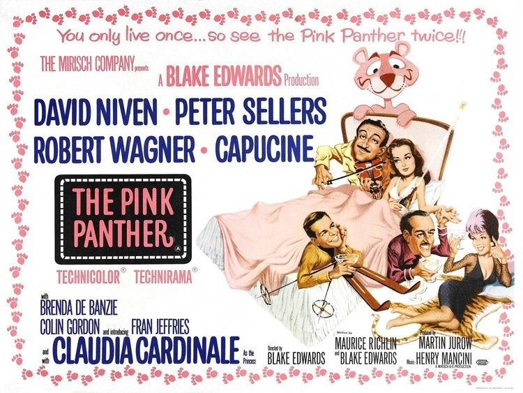 The Pink Panther (1963 film) The Pink Panther 1963 Trailer YouTube