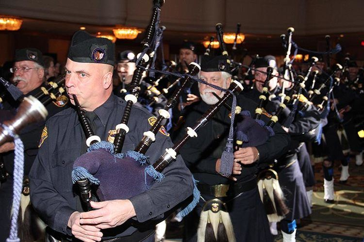 The Pipes The Pipes Drums of the Cleveland Police performing Honor Our