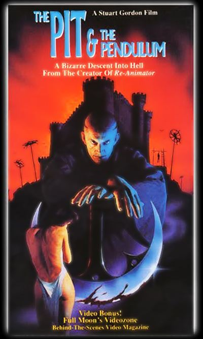 The Pit and the Pendulum (1991 film) THE PIT AND THE PENDULUM 1991 TWO WEAK TOP HATS Isaacs Picture