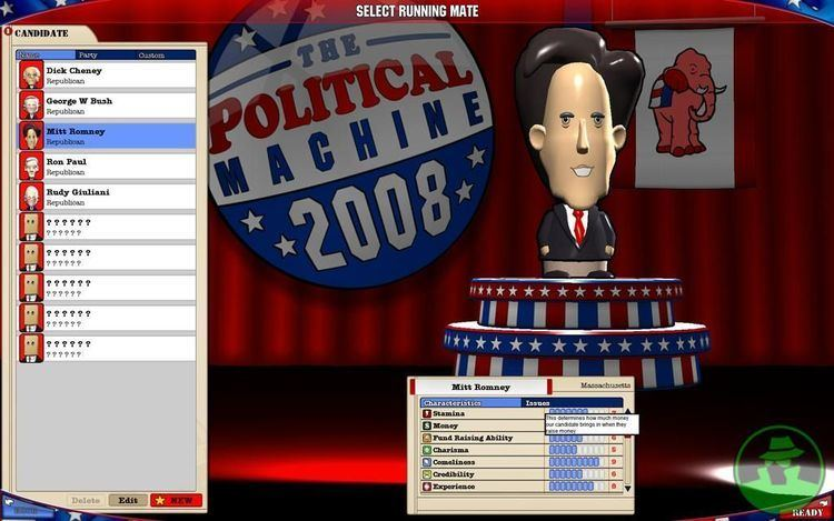 The Political Machine 2008 Ron Paul in this years edition of the Political Machine