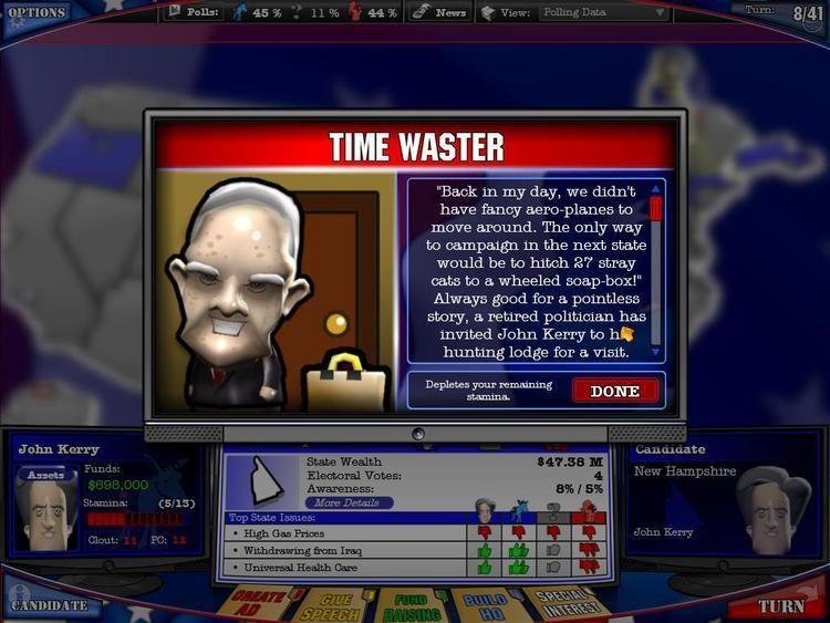 The Political Machine 2008 The Political Machine 2008 Review Gaming Nexus