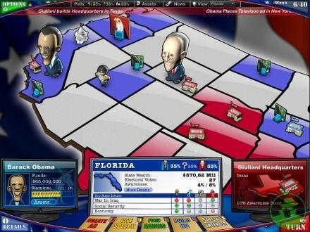 The Political Machine 2008 GameSpy The Political Machine 2008 Page 1