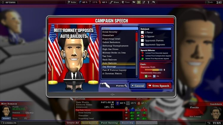 The Political Machine 2012 The Political Machine 2012 Now Available From Stardock Vivid Gamer