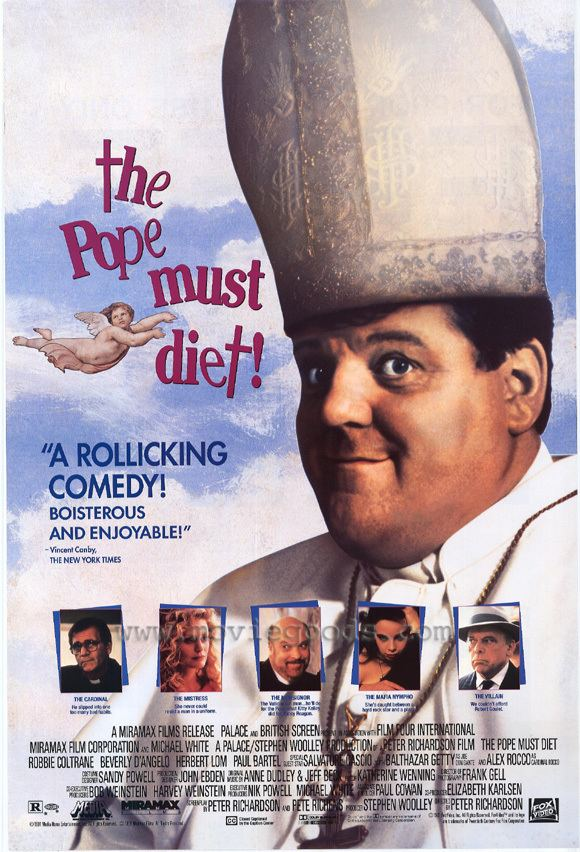 The Pope Must Die All Movie Posters and Prints for The Pope Must Diet JoBlo Posters