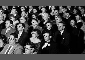 The Power of Love (film) The first ever 3D movie was The Power Of Love a silent film