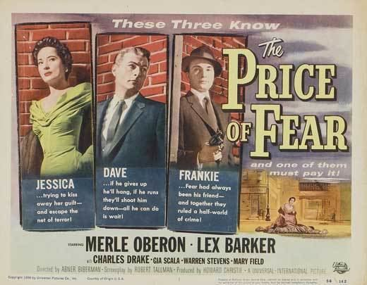The Price of Fear (1956 film) The Price of Fear Movie Posters From Movie Poster Shop