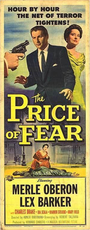 The Price of Fear (1956 film) Price Of Fear movie posters at movie poster warehouse moviepostercom