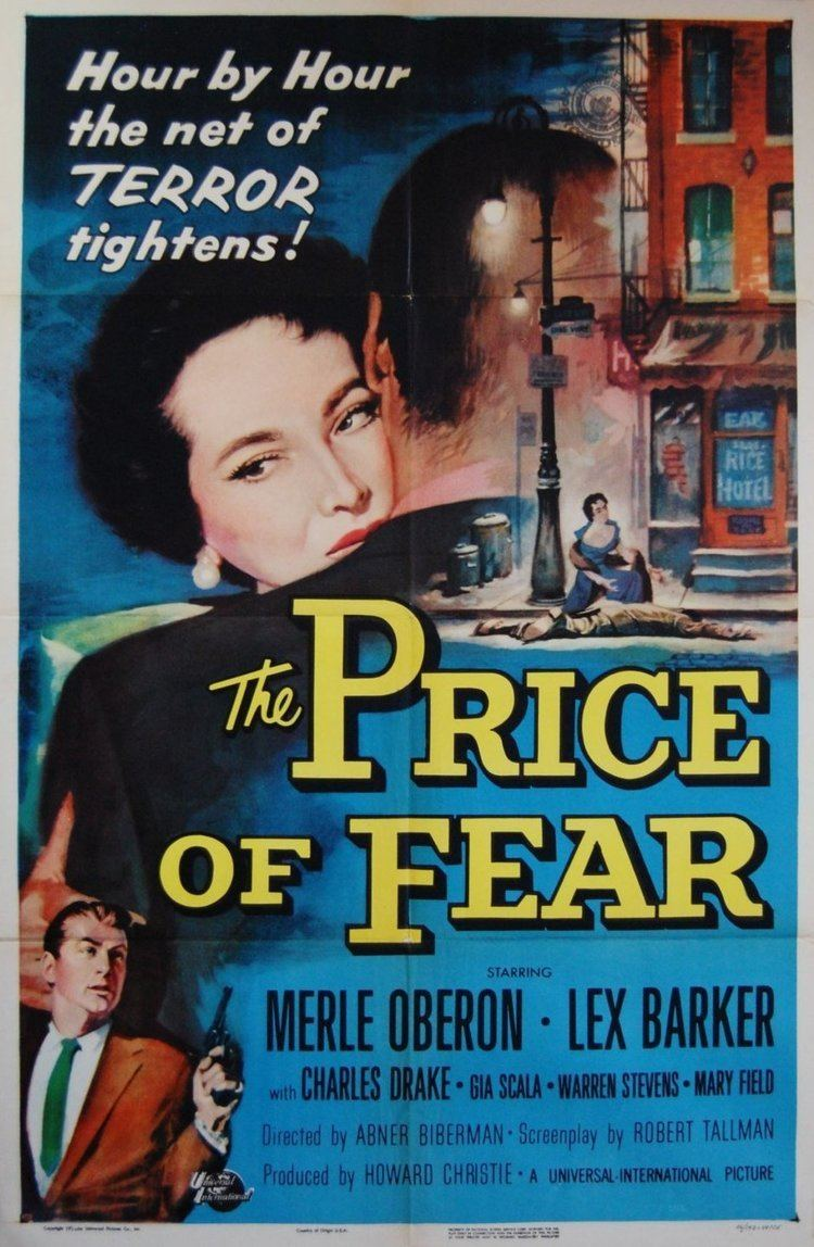 The Price of Fear (1956 film) Film Noir Board THE PRICE OF FEAR 1956