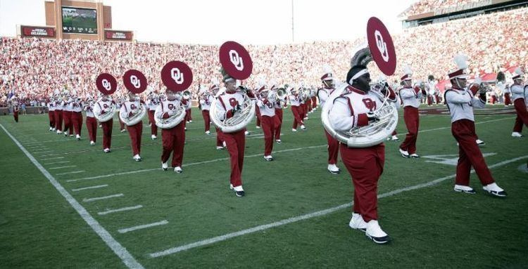 The Pride of Oklahoma Marching Band OU Sports Extra Pride of Oklahoma band students vent in open