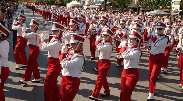 The Pride of Oklahoma Marching Band Pride of Oklahoma The Official Site of Oklahoma Sooner Sports