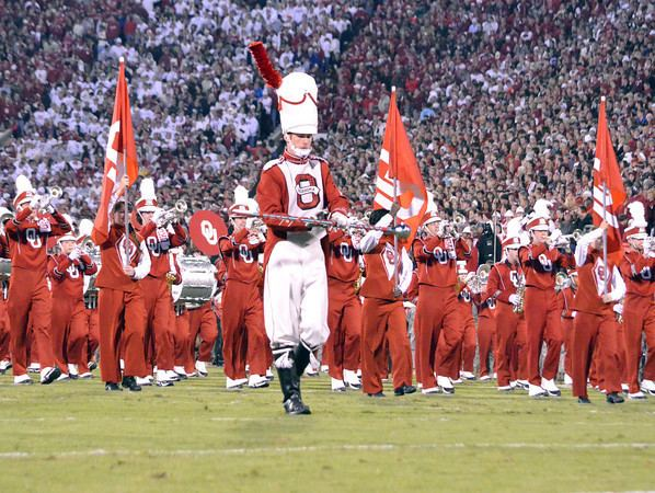 The Pride of Oklahoma Marching Band OU vs Notre Dame The Norman Transcript