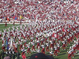 The Pride of Oklahoma Marching Band httpsuploadwikimediaorgwikipediacommonsthu