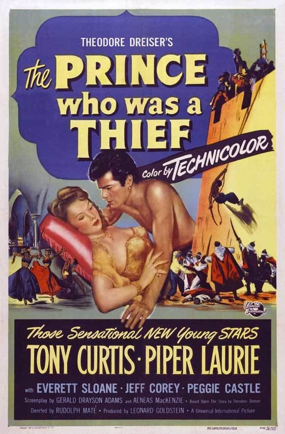 The Prince Who Was a Thief The Prince Who Was a Thief Movie Posters From Movie Poster Shop