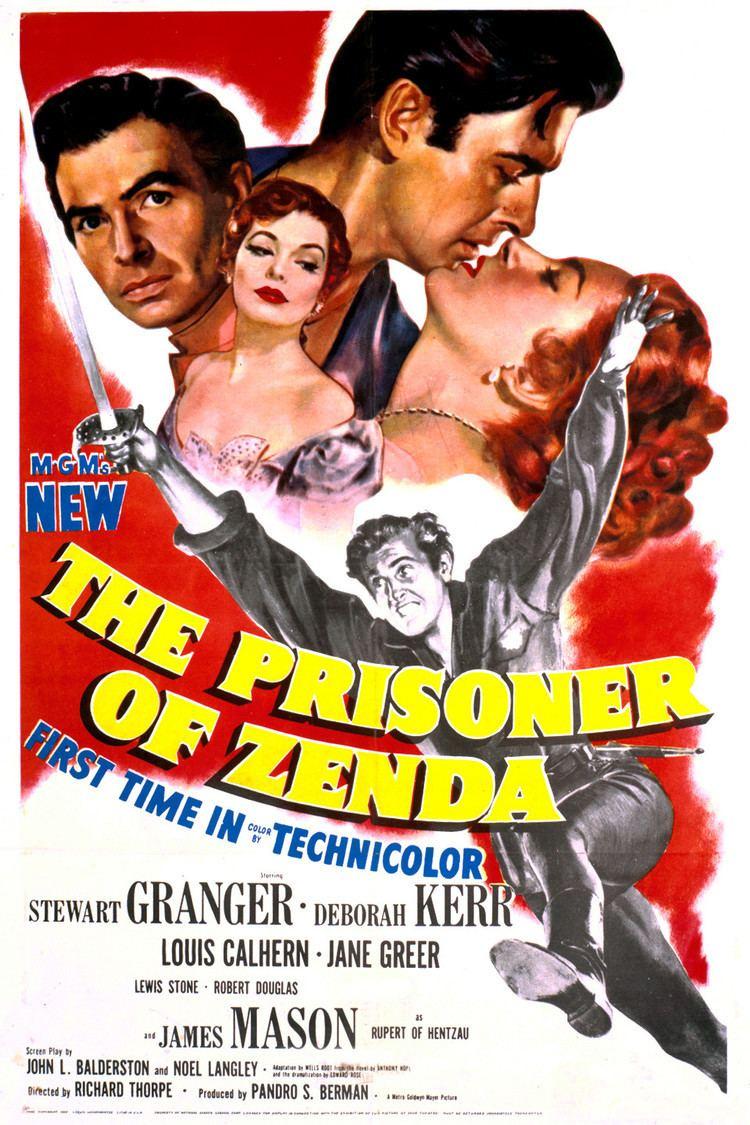 The Prisoner of Zenda (1952 film) wwwgstaticcomtvthumbmovieposters5643p5643p