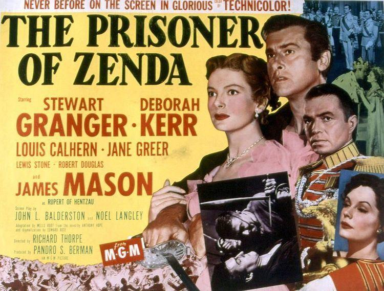 The Prisoner of Zenda (1952 film) The Prisoner of Zenda with Jane Greer James Mason James mason