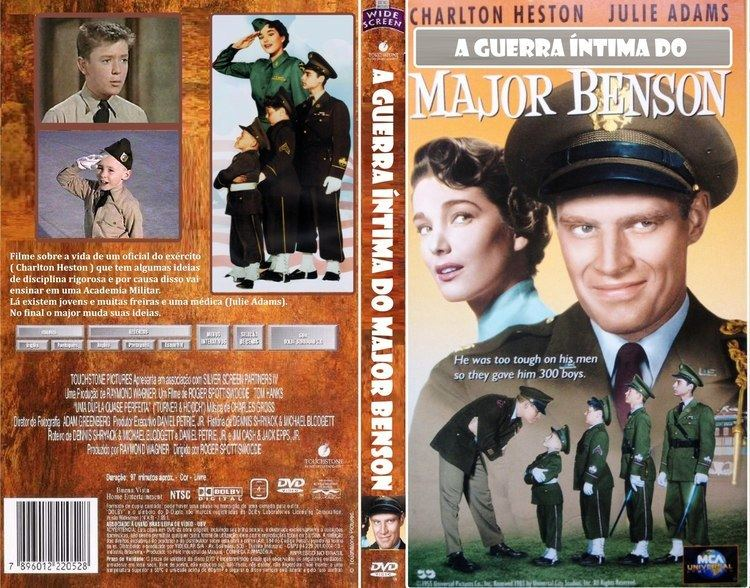The Private War of Major Benson A Guerra ntima do Major Benson 1955 VHS Charlton Heston YouTube