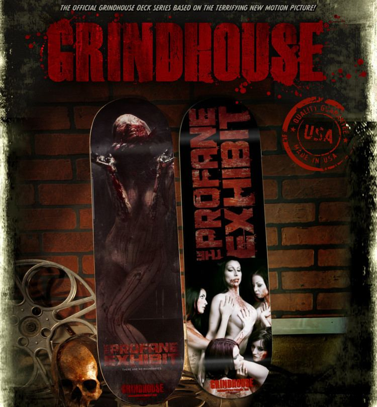 The Profane Exhibit THE PROFANE EXHIBIT Official skateboard decks available