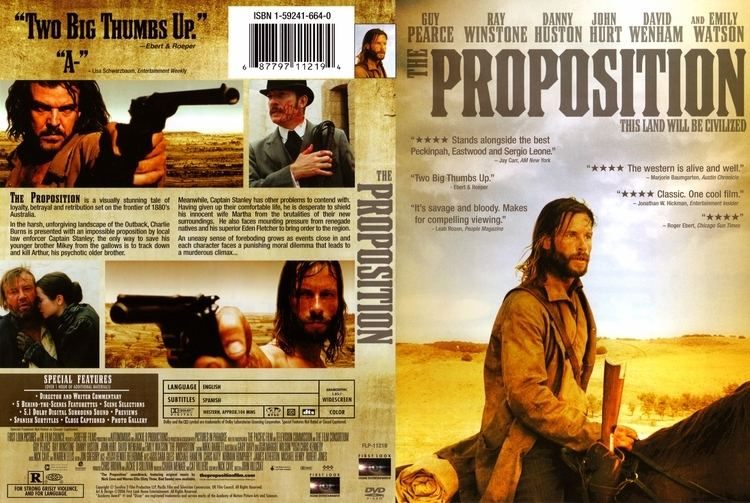 The Proposition (2005 film) COVERSBOXSK The Proposition 2005 high quality DVD
