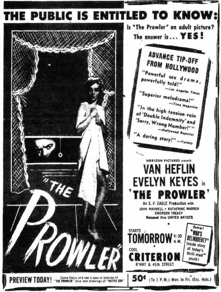 The Prowler (1951 film) The Prowler 1951 Joseph Losey Twenty Four Frames