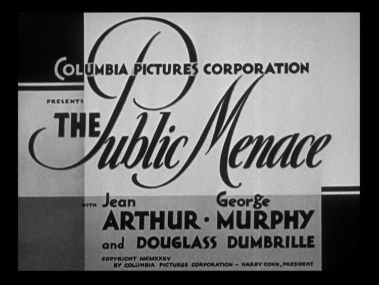 The Public Menace Happyotter THE PUBLIC MENACE 1935