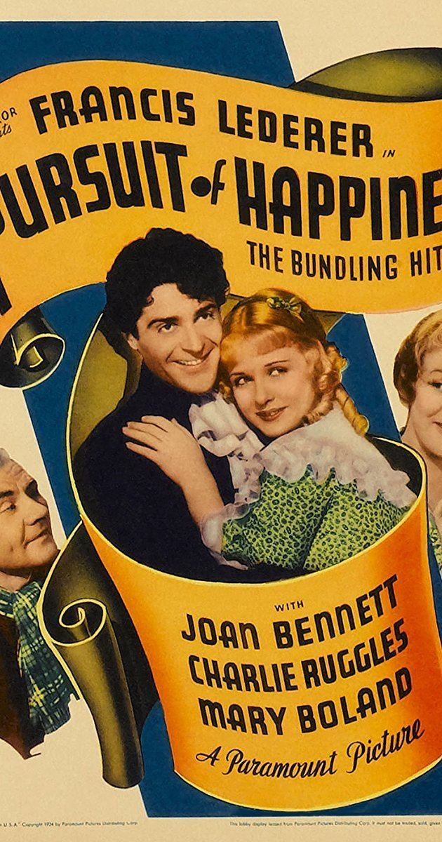 The Pursuit of Happiness (1934 film) The Pursuit of Happiness 1934 IMDb