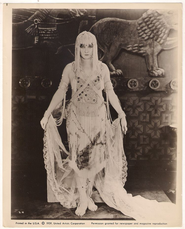 The Queen of Sheba (1921 film) Betty Blythe Muses Cinematic Women The Red List