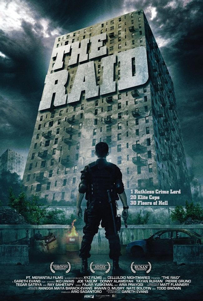 The Raid (2011 film) All Movie Posters and Prints for The Raid Redemption JoBlo Posters