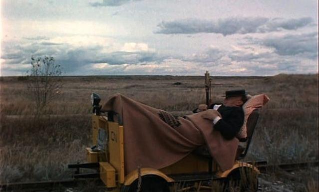 The Railrodder The Railrodder cinema politica