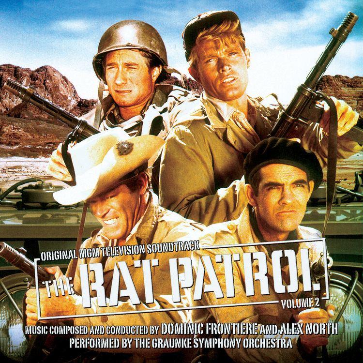 The Rat Patrol film music movie music film score The Rat Patrol Volume Two
