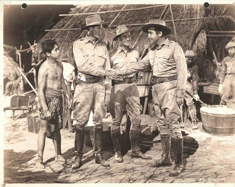 The Real Glory GARY COOPER BRODERICK CRAWFORD DAVID NIVEN in The Real Glory