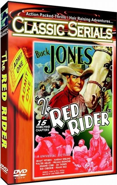 The Red Rider Hermitage Hill Media THE RED RIDER Serial DVD