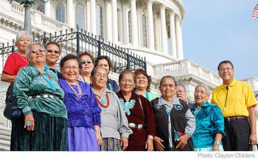 The Return of Navajo Boy The Return of Navajo Boy Navajo Grandmothers Demonstrate in