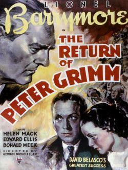 The Return of Peter Grimm (1926 film) Film Blanc The Return of Peter Grimm