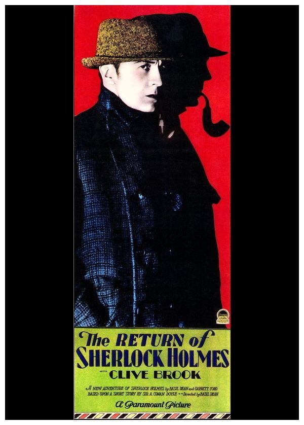 The Return of Sherlock Holmes (1929 film) Film Review The Return Of Sherlock Holmes 1929 HNN