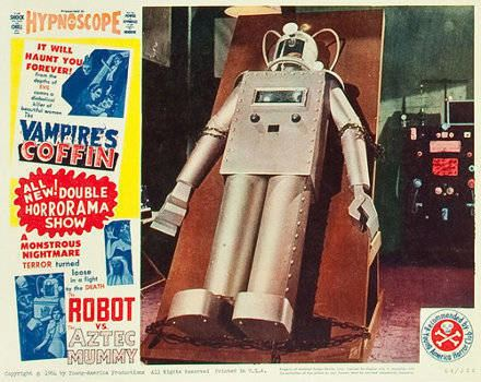 The Robot vs. The Aztec Mummy Apocalypse Later The Robot vs The Aztec Mummy 1958