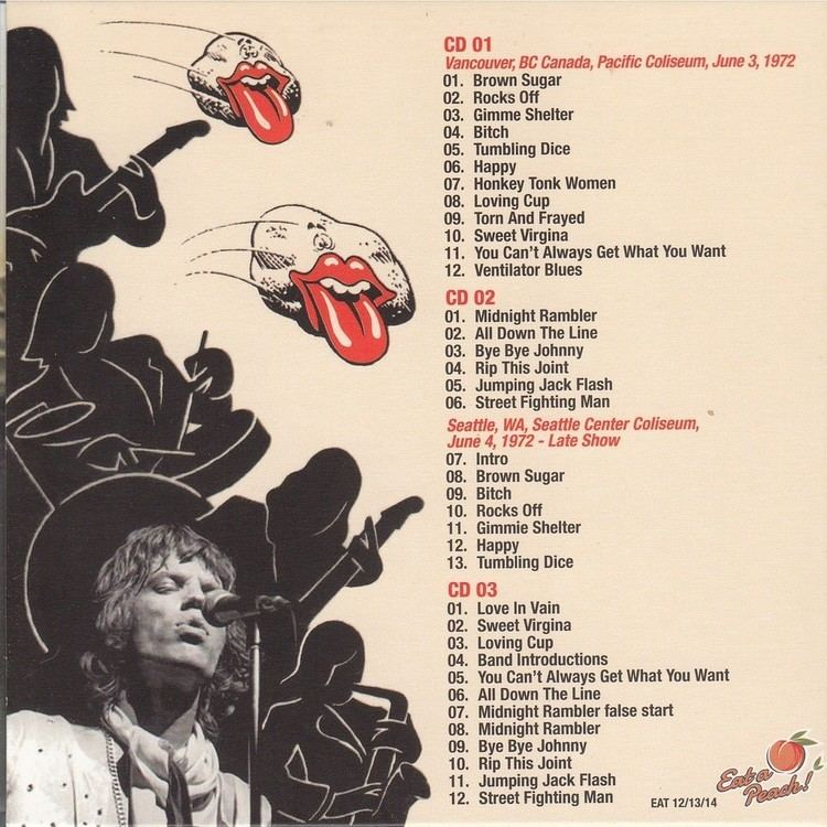 The Rolling Stones American Tour 1972 - Alchetron, the free