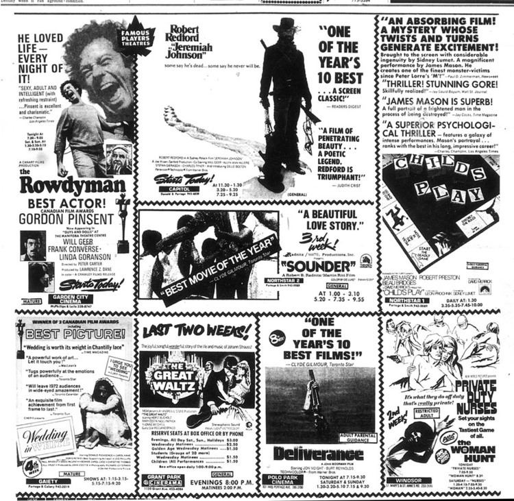 The Rowdyman Movie Ad Mania Cagey Films