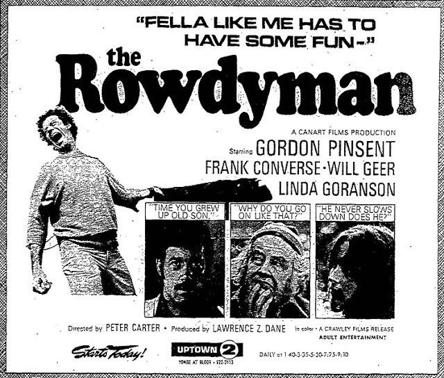 The Rowdyman Of All Places to Have Come FromGordon Pinsents Father was