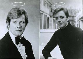 The Saint (TV series) Former 39Saint39 Stars Roger Moore And Ian Ogilvy Join The Cast Of New