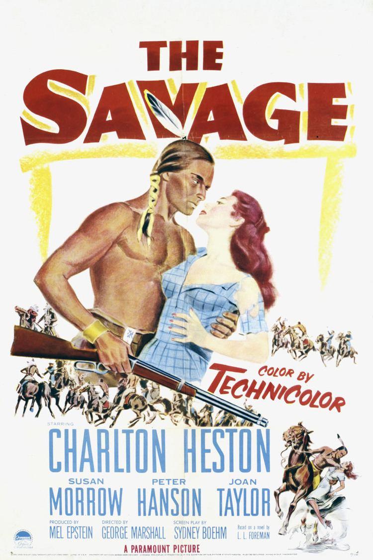 The Savage (1952 film) wwwgstaticcomtvthumbmovieposters38942p38942