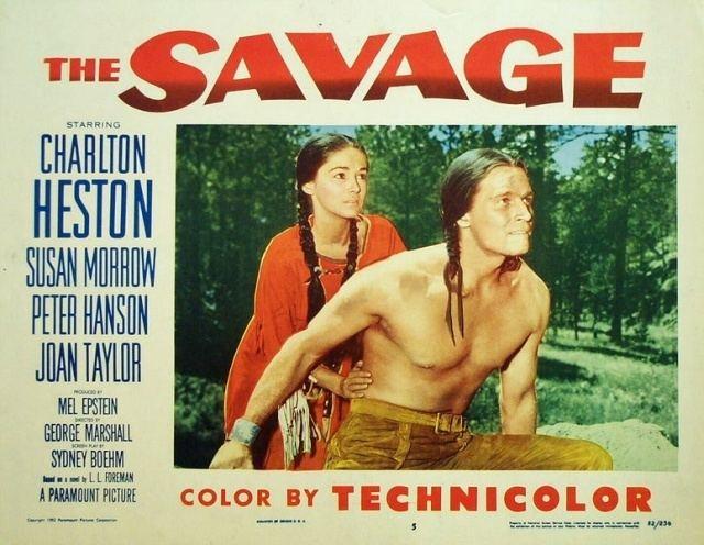 The Savage (1952 film) Charlton Heston Independent Film News and Media
