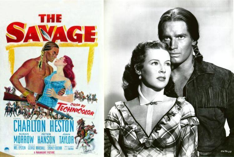 The Savage (1952 film) Charlton Heston My Favorite Westerns