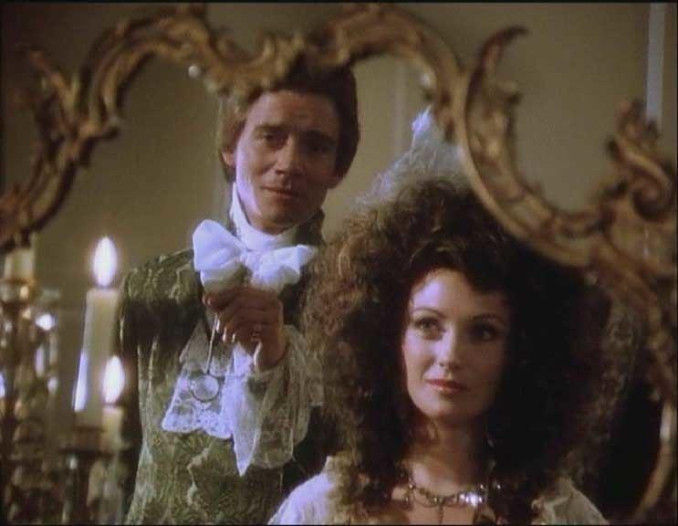 The Scarlet Pumpernickel movie scenes Sir Percy Blackney Anthony Andrews admires Marguerite Jane Seymour