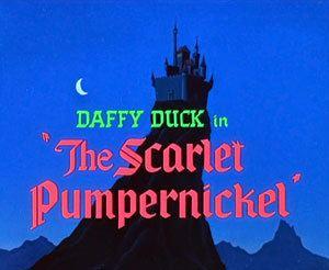 The Scarlet Pumpernickel movie poster